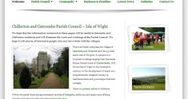 Low Cost Web Design for Parish Councils