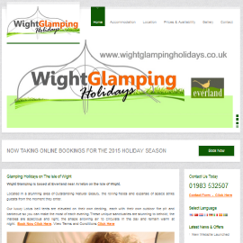 Wight Glamping Holidays