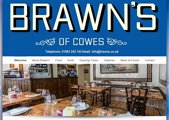 Restaurants Cowes Isle of Wight