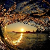 view-of-the-sunset-from-inside-the-wave