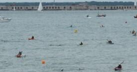 Wild West Solent Swim 2014