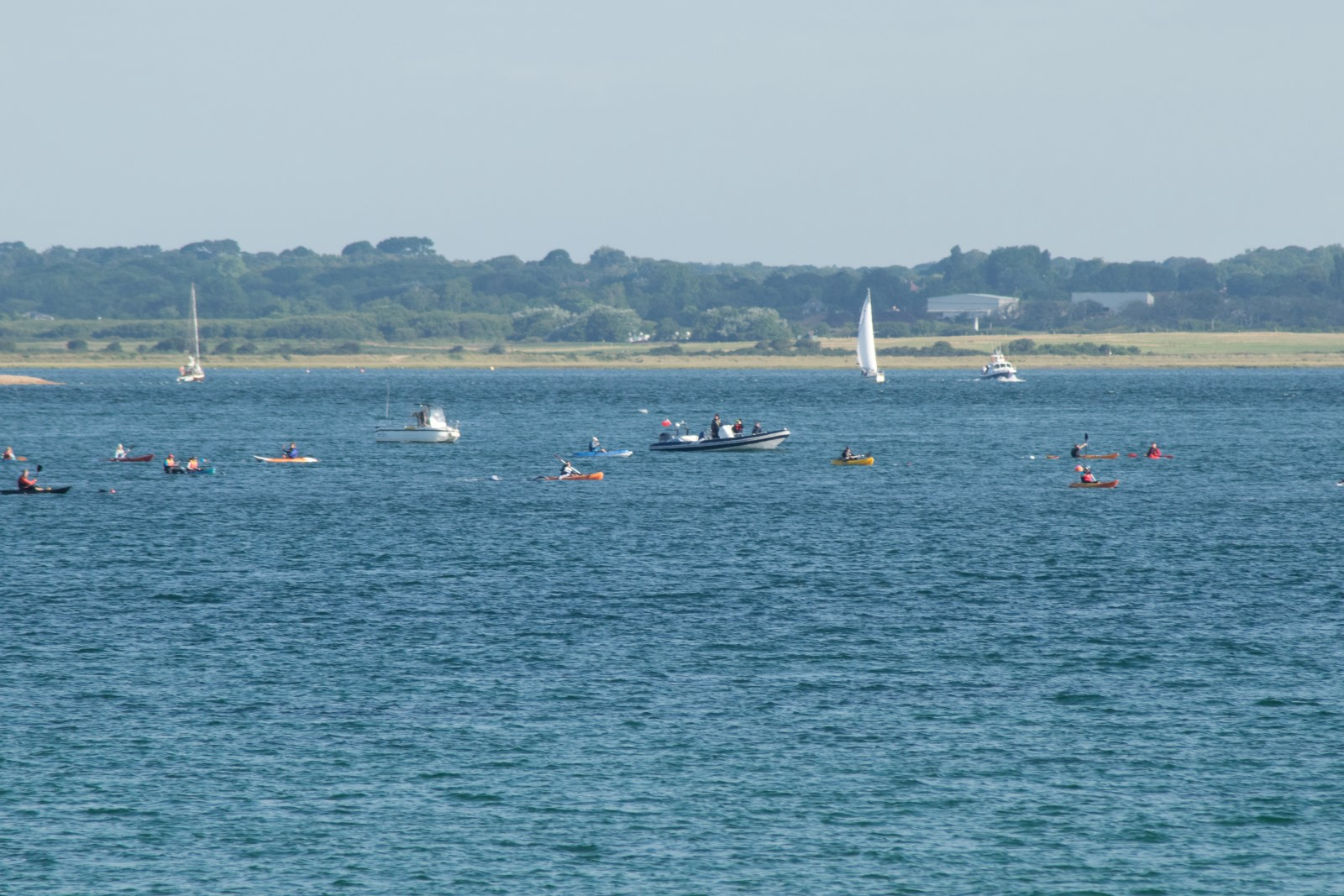 Isle of Wight Samaritans Swim the Solent 2016