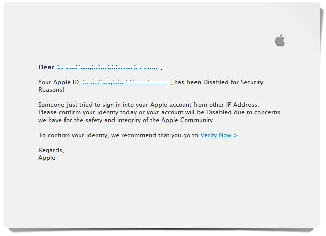 iTunes Scam