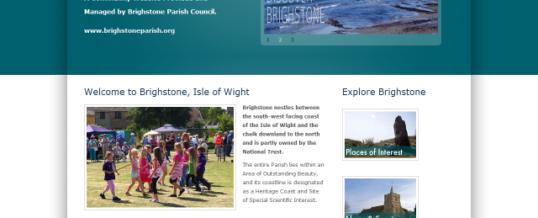 Parish Council Website Design