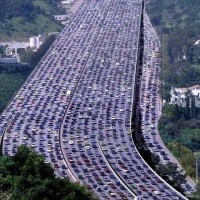 the-longest-traffic-jam-in-the-world-161-mile-in-china